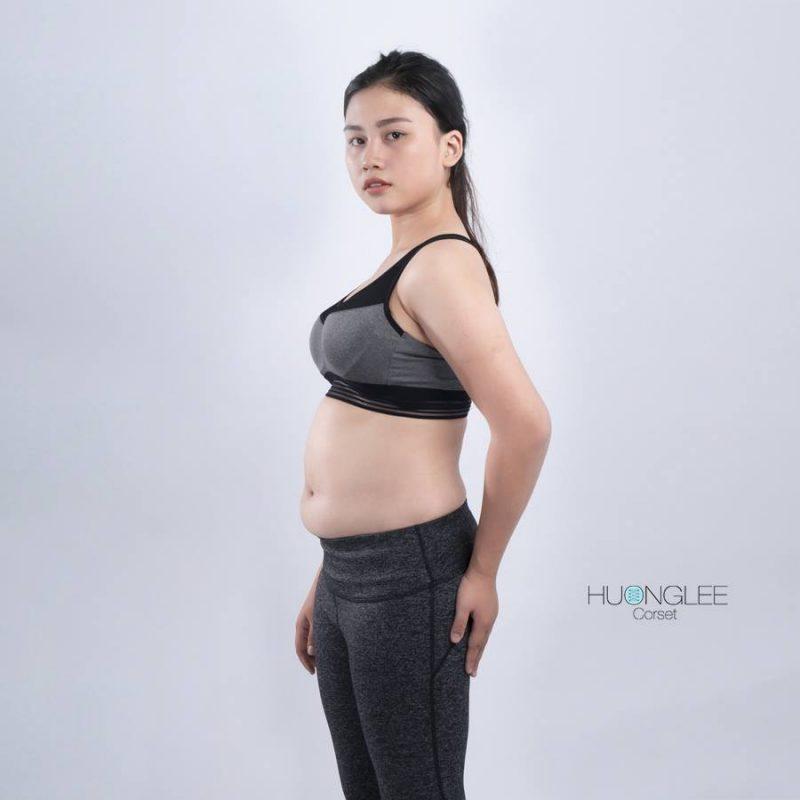 Đai giảm mỡ bụng Huonglee corset- thương hiệu số 1 Việt Nam